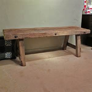 antique oak bench an oak pig bench antiques atlas