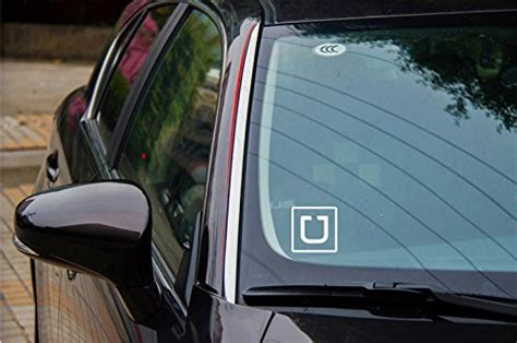 Where To Place Uber Sticker