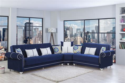 Contemporary Navy Blue Sectional Sofa Contemporary Navy Blue Sectional Sofa Radionigerialagos