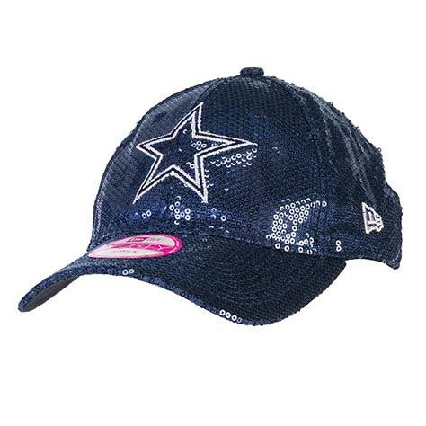 dallas cowboys pink new era sequin hat adjustable hats