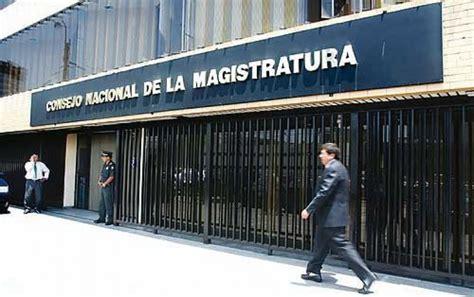 consejo nacional de la magistratura cnm cnmgobpe onpe publicaron la lista de candidatos al consejo