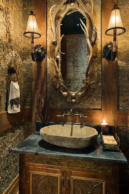 western mirrors for the bathroom rustic bathroom love the mirror bathroom pinterest