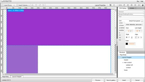 layouts with css in dreamweaver flexi css layouts for dreamweaver create custom css