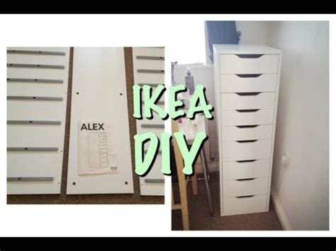 Alex Drawer Dupe by Assembling Alex 9 Drawers Sped Up