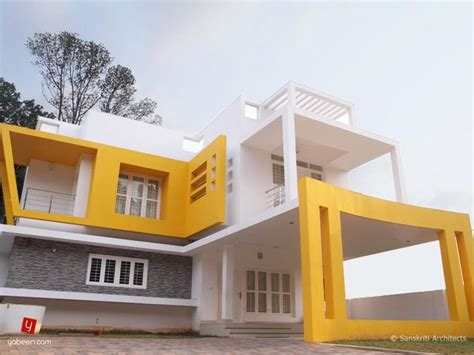 house exterior design photo library contemporary home designs kerala contemporary exterior