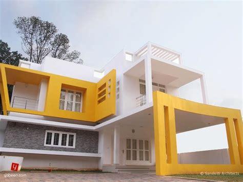 contemporary home designs kerala contemporary exterior