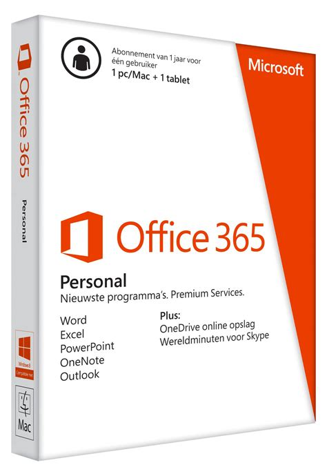 Microsoft Office Personal by Microsoft Office 365 Personal Nl Prijzen Tweakers