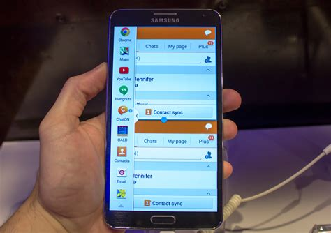 Samsung Multi Window on the samsung galaxy note iii and note 10 1 ars