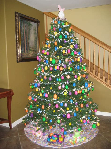 Home Decorated Christmas Trees by Easter Tree Easter Pinterest