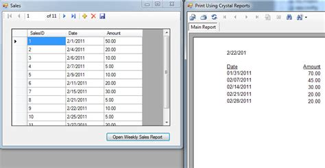 tutorial crystal report delphi weekly sales report using crystal reports free source