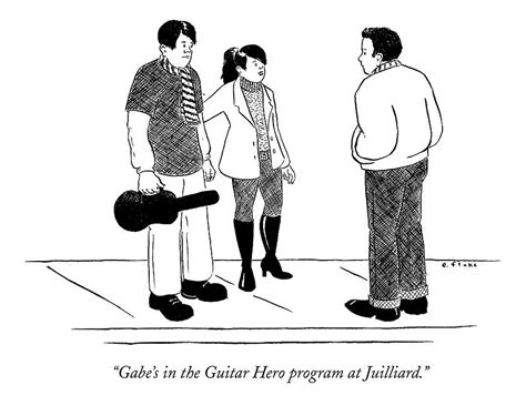 Juilliard Drawing gabe s in the guitar program at juilliard drawing by