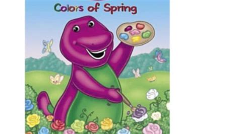 barney painting free barney s colors of paint