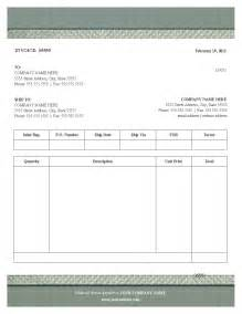 Free Printable Invoices Templates Blank by Blank Invoice Template Free Invoice Template