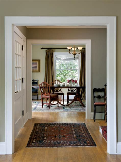colonial revival home interior home design and style