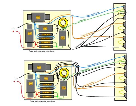 crossover wiring diagram speaker efcaviation