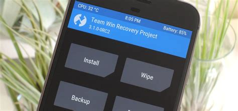 twrp 101 how to install a custom rom android gadget hacks twrp 101 how to install the best custom recovery for