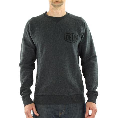 Sweater Hoodie Deus Ex Machina Ss3 Jaspirow Shopping deus ex machina venice la address crew sweater charcoal marle