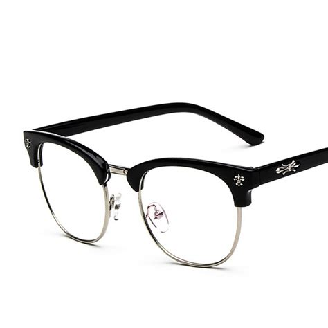 Big Frame Glasses 2016 brand design vintage big oversized frame eyeglasses
