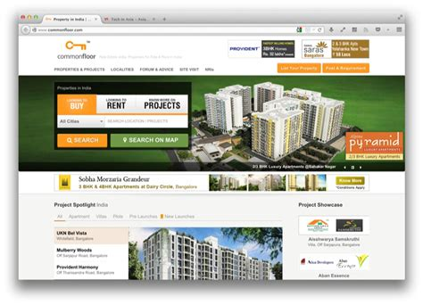 india s commonfloor gets into new property area with