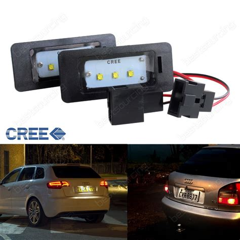 Accesories Number Plate W Led Unit Set By Killerbody aliexpress buy licence number plate cree led light seat ibiza vw jetta touareg passat r36