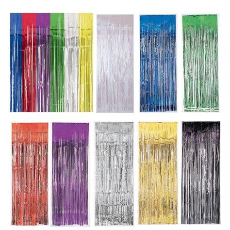 metallic fringe curtain metallic fringe door curtain photo booth backdrop