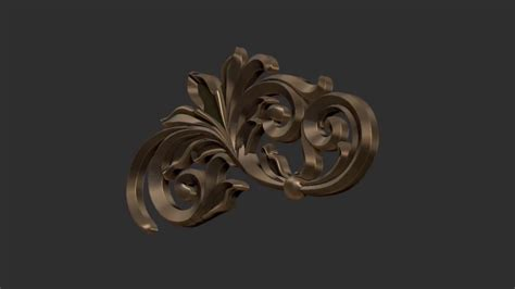 pattern zbrush zbrush making an insert scroll pattern brush youtube