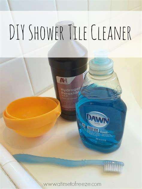 bathroom tiles cleaner homemade diy shower tile cleaner