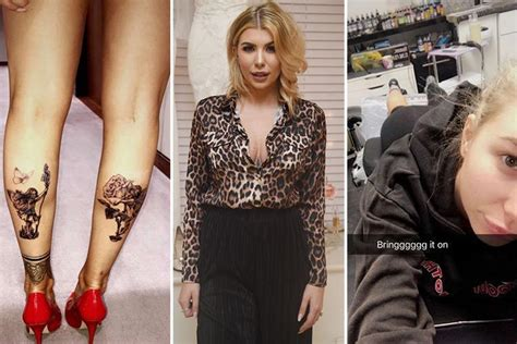 tattoo of us olivia buckland love island s olivia buckland reveals two new tattoos on