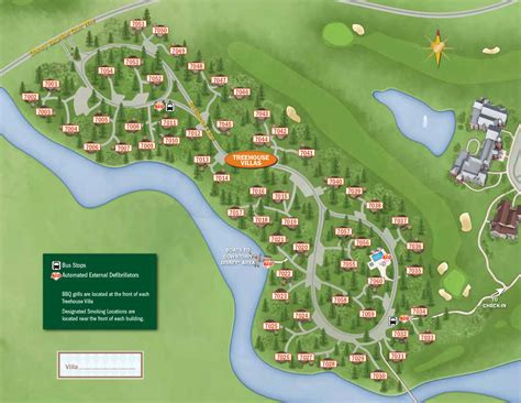 disney saratoga springs villas reviews 2013 treehouse villas guide map photo 1 of 1