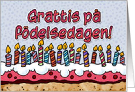 Similiar Happy Birthday In Swedish Keywords