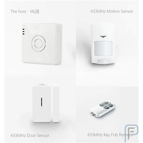 broadlink s2 hub kit 2017 security alarm detector motion