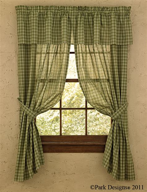 Country Valances And Swags homespun country curtains valances swags tiers curtain panels and chairpads