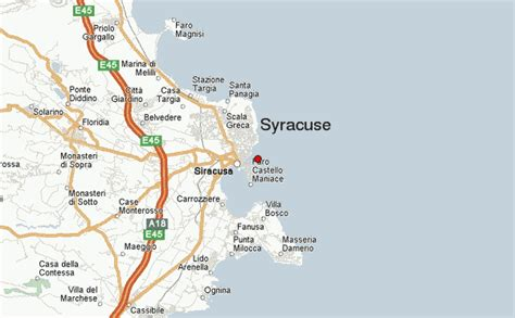 syracuse map syracuse italy location guide