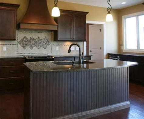 kitchen island panels kitchen island back panel for a beautiful look ideas