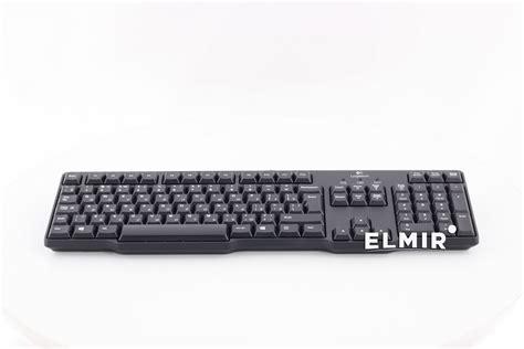 Logitech Classic Keyboard Ps 2 K100 logitech classic keyboard k100 black ru ps 2