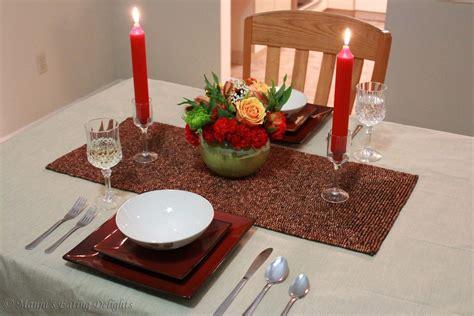 candle light dinner at home decoration can din 6