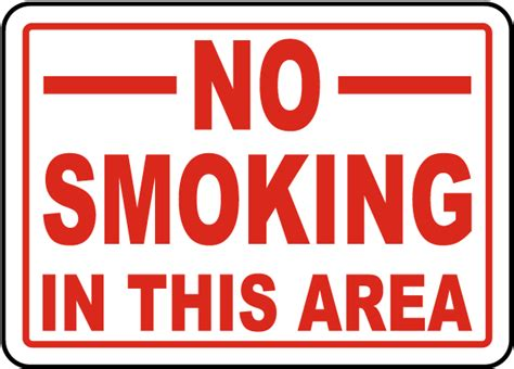 no smoking in this area sign nhe 25185 smoking area no smoking in this area sign j3732 by safetysign com