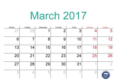 printable calendar april 2016 march 2017 2017 march calendar printable printable 2017 calendar