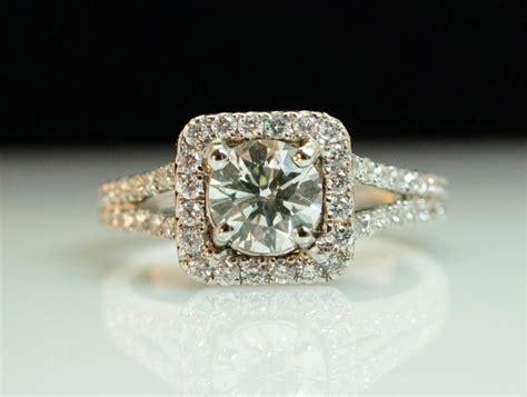 square halo engagement ring split shank 1 52ctw