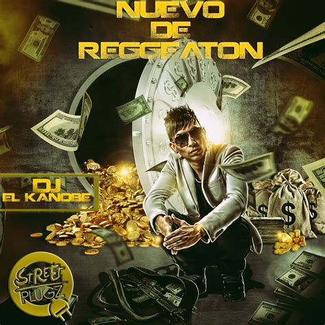 Various Artists Reggeaton De Neuvo Hosted By Dj El Kanobe Mixtape Stream Download Mixtape Cover Template Psd