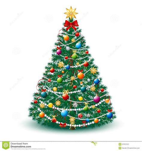 sch 246 ner weihnachtsbaum env 10 stock abbildung bild 27972151