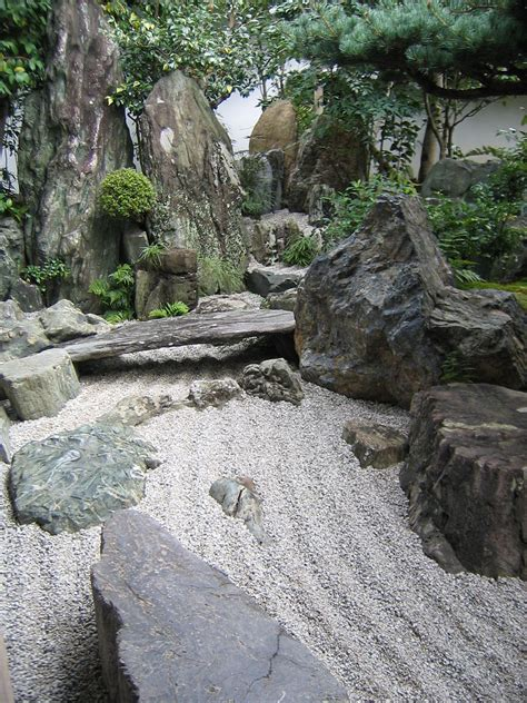 Serenity Of The Japanese Rock Garden Rock Garden