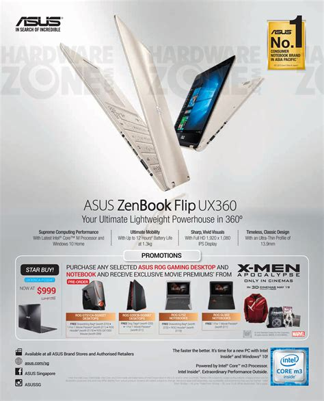 Singapore Product Guide asus product guide pg 01 brochures from pc show 2016