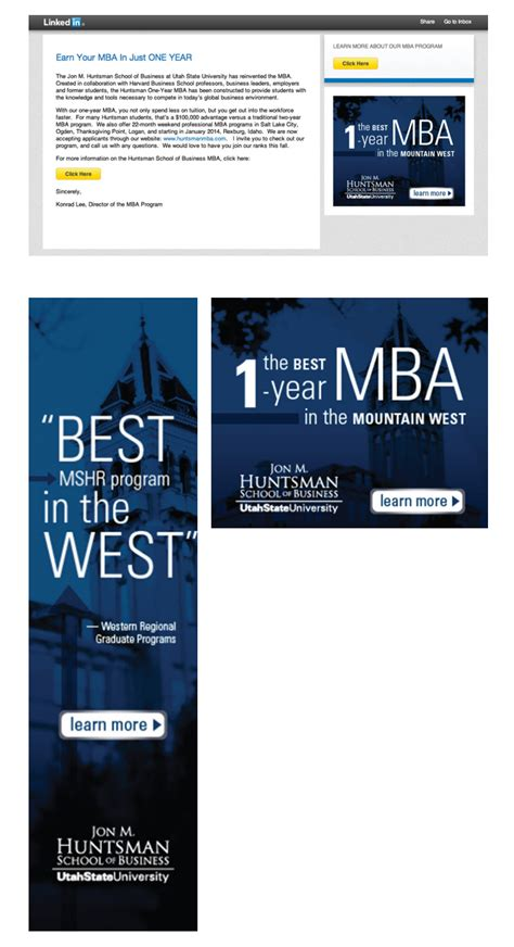 Utah State S Uvu Mba Program by Linkedin Ads A Comprehensive Guide For B2b Marketers In 2017
