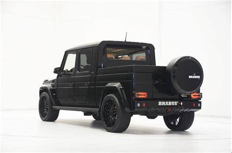 mercedes g500 pickup brabus g500 xxl pickup truck is very large wide and cool