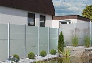 sichtschutz glas garten sichtschutz z 228 une aus glas zaunteam z 228 une und tore