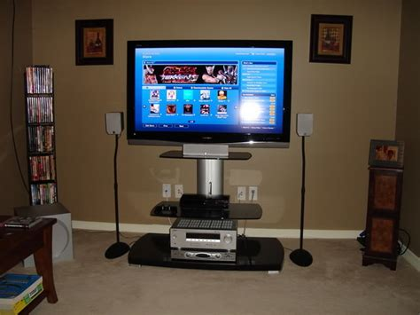 build  entry level home theater  gaming system