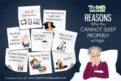 Reasons Why You Cant Sleep At by 10 Reasons Why You Cannot Sleep Properly At Top 10