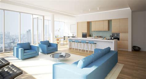luxurious modern living room interior  model