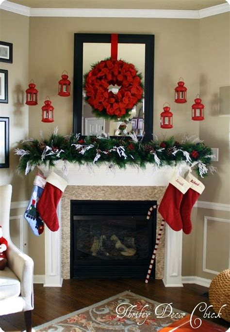 Mantel Decorations Garland by 119 Best Garland Mantel Ideas Images On